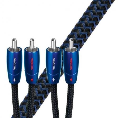 Audioquest Victoria RR 1 m - kabel audio 2 x RCA - 2 x RCA