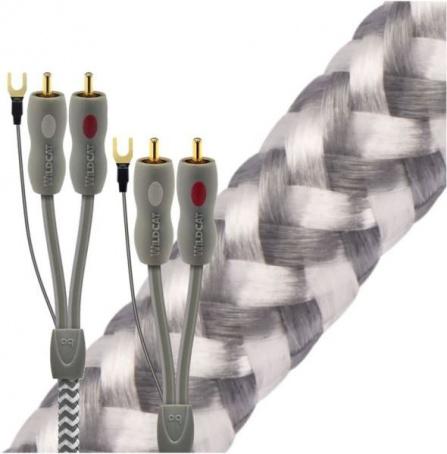 Audioquest Wildcat tonearm kabel - RCA - RCA 1,5m