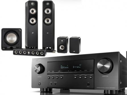 Denon AVR-S960H + Polk Audio Signature E + HTS 12