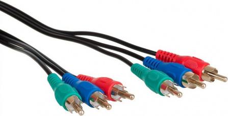 AQ KVY030 - kabel YUV 3 x RCA - 3 x RCA 3,0 m