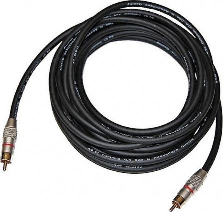 AQ W 1/5 - Kabel pro subwoofer - 5,0 m (mono)