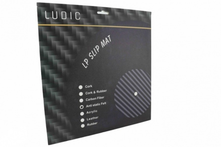 Ludic Audio Anti-static LP Mat Turntable