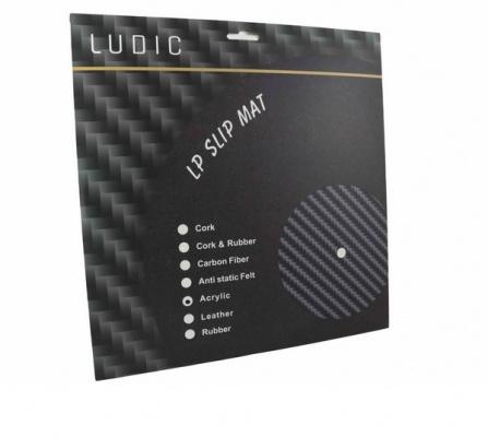 Ludic Audio Acrylic LP Slip Mat