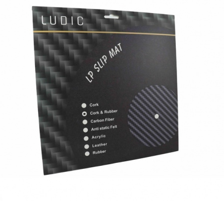 Ludic Audio High Density Cork and Rubber LP Mat
