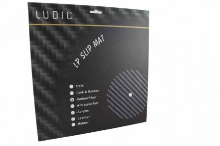 Ludic Audio Carbon LP Slip Mat