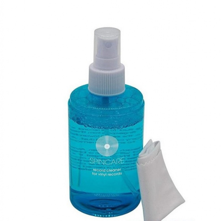 Spincare Record Cleaning Solution + Microfibre Cloth