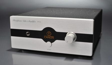 Sluchátkový zesilovač Canor TP 10 stříbrný