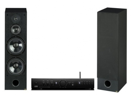Set BCA EX-222.1 + AQ WEGA 55 (C) (2x) černé