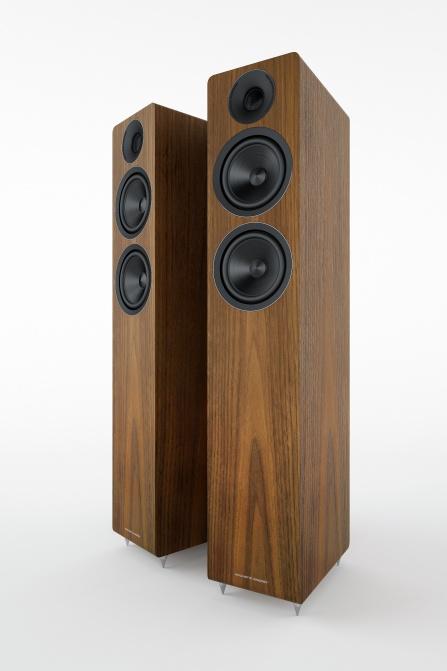 Acoustic Energy AE309 Real Walnut Wood Veneer