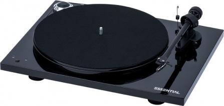 Pro-Ject Essential III RecordMaster černý + vložka