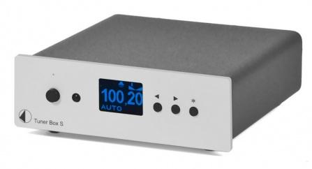 FM Tuner Project Box S stříbrný