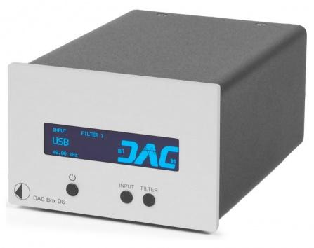 DAC převodník Box DS stříbrný