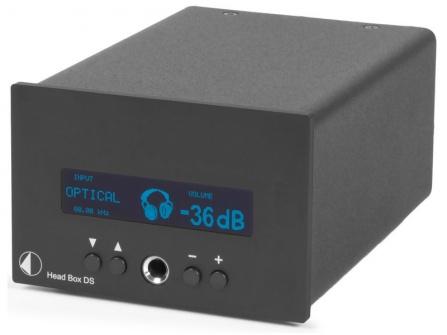 Sluchátkový zesilovač Project Head Box DS černý