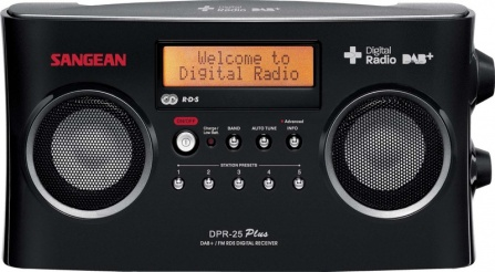Radio Sangean DPR-25 Plus