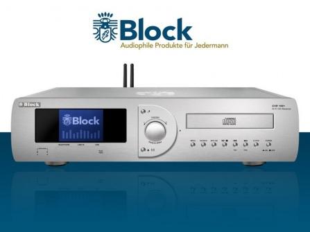 Receiver Block CVR-100+ MKII stříbrný