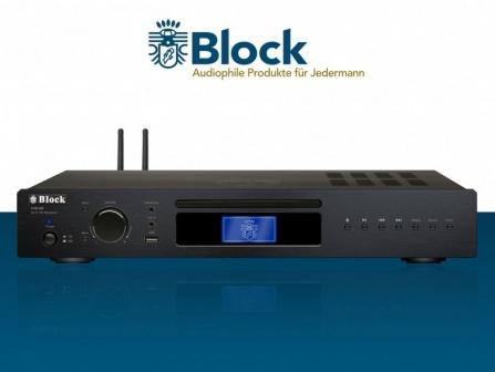 Receiver Block CVR-250 černý