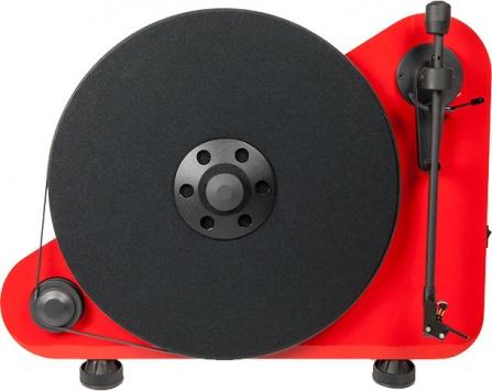 Pro-Ject VTE R + vložka OM5e - červený
