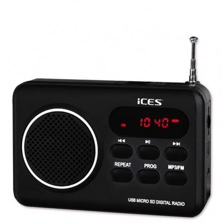Radio Ices IMPR-112 černá