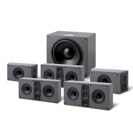 Jamo D 600 HCS 5.1 Stone Grey