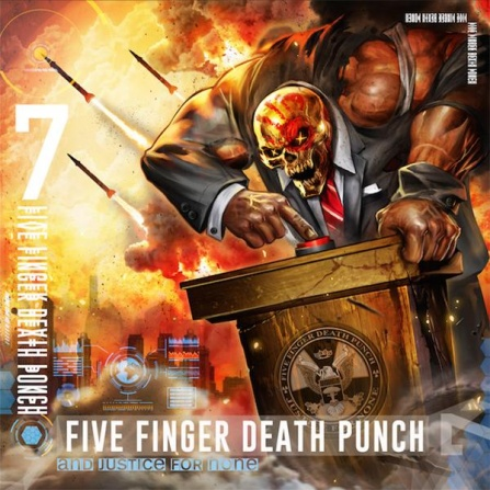Five Finger Death Punch - And Justice For None 2LP