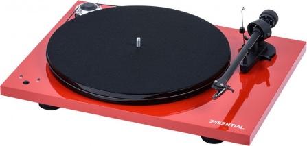 Pro-Ject Essential III SB Red + Ortofon OM10