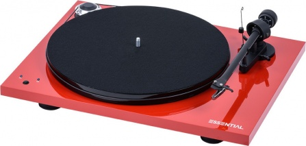 Pro-Ject Essential III RecordMaster Red + OM10