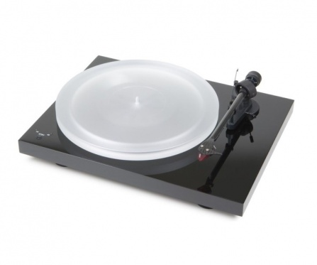 Pro-Ject Debut Carbon Recordmaster Hires Black + 2M Red