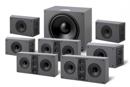Jamo D 600 HCS 7.1 - Stone Grey