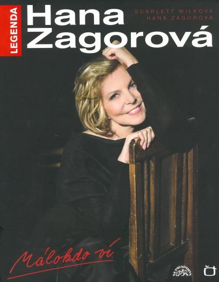Hana Zagorová - Legenda - Málokdo ví (kniha+DVD+CD)