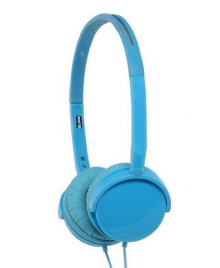 Sluchátka BigBen Colorblock Alpha modrá