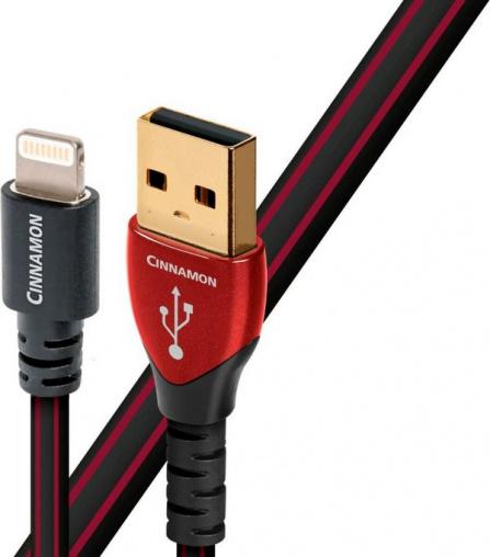 Audioquest Cinnamon USB A na Lightning - 0,3 m