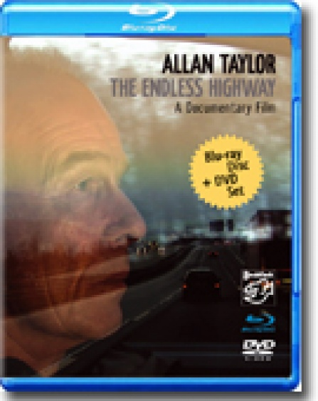 Allan Taylor - The Endless Highway - 2disc set: Blu-ray Disc + DVD-5