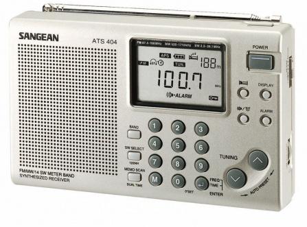Radio Sangean ATS 404 Pakket