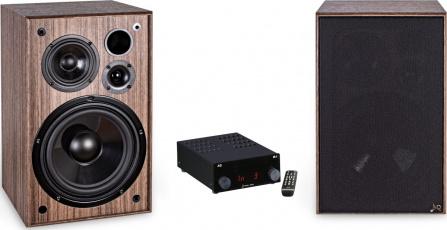 Audio set AQ Tango 95 ořech 2 ks + AQ M4D