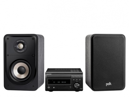 Denon RCD-M41 + Polk Audio S15e Black