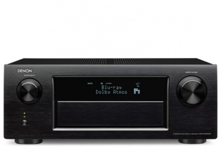 Denon AVR-X5200W - black