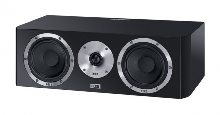 Heco Elementa Center 30 - Black Satin