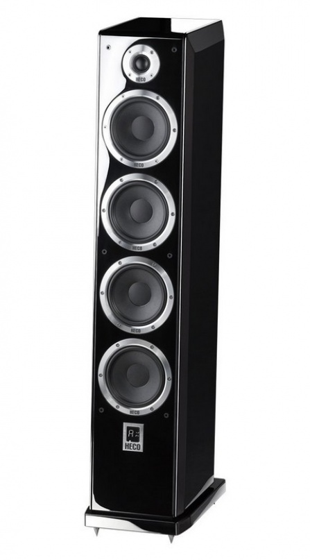 Heco Ascada 600 Tower Piano Black