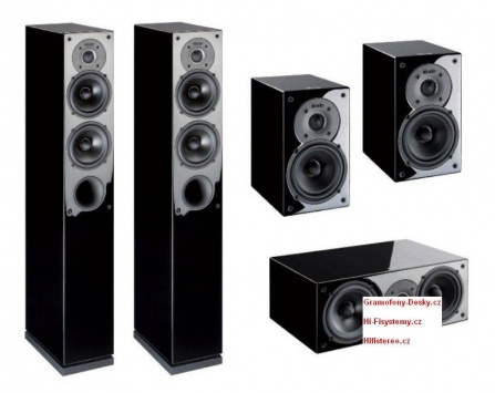 Indiana Line Tesi High Gloss Home Cinema Set 5.0 - Black