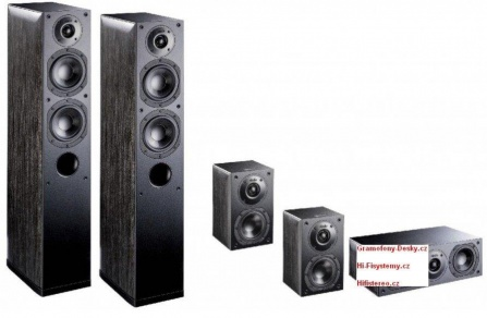 Indiana Line Nota X Home Cinema Set 5.0 - Black Oak