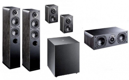 Indiana Line Nota X Home Cinema Set 5.1 - Black Oak
