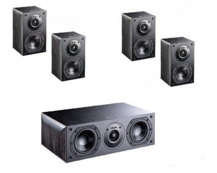Indiana Line Nota X Home Cinema Set 5.0 Small - Black Oak