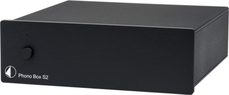 Pro-Ject Phono Box S2 - Black