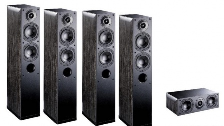 Indiana Line NOTA X Home Cinema set 5.0 Big Black