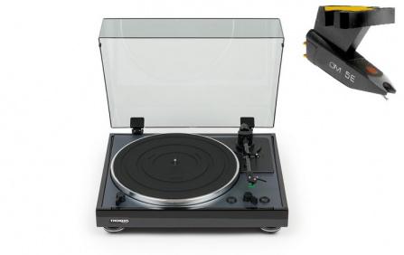 THORENS TD-102A Black + Ortofon OM 5E