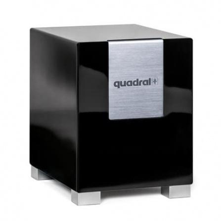 Quadral Qube S 8 Aktiv Black