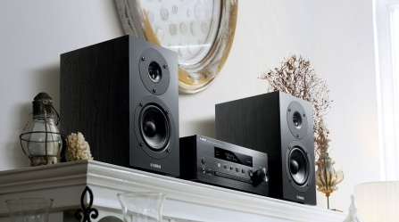 yamaha mcr n470d black gramofony. Black Bedroom Furniture Sets. Home Design Ideas