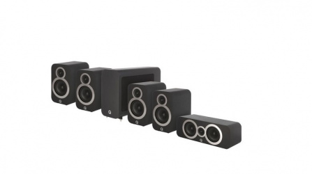 Q Acoustics 3010i 5.1 Carbon Black
