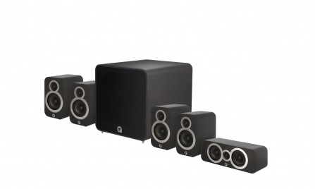 Q Acoustics 3010i PLUS 5.1 Carbon Black