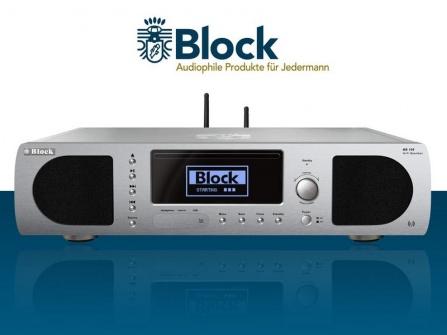 Audio systém Block BB-100 Boombox stříbrný